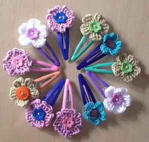 handmade hair clips