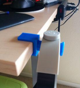 Desk holder